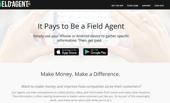 Field Agent App Review – Get Paid $3 to $12 For Each Task Completed