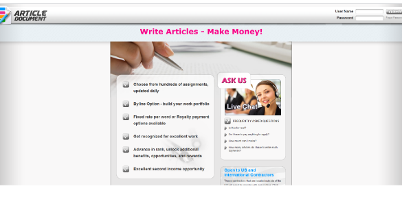 A Review of Article Document