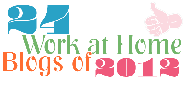 24 Work at Home Blogs of 2012
