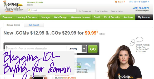 How to Buy Your Own Domain Name