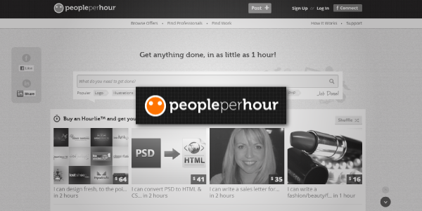 PeoplePerHour for All Types of Freelancers
