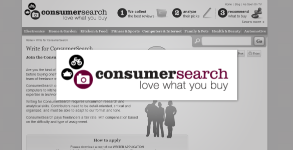 ConsumerSearch Review