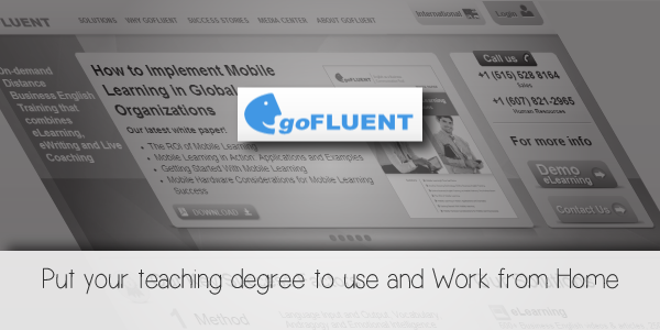 GoFLUENT- use your degree and work from home- wahadventures.com