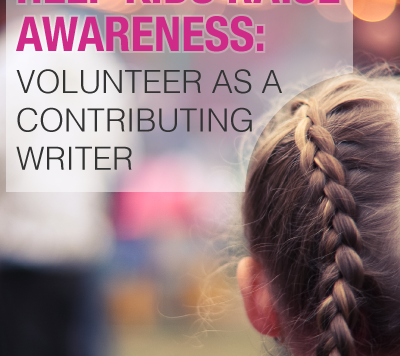 Volunteer as a Contributing Writer to Help Kids With Acts of Kindness
