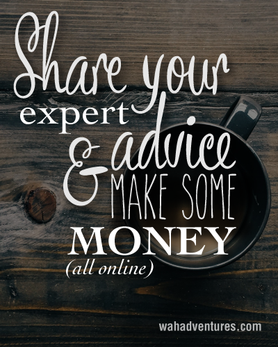 Use Clarity.com to share and educate and make money online.