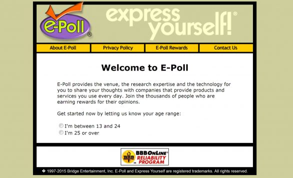 E-Poll Surveys Review – Earn Money While Watching Television