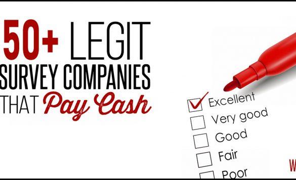 50+ Legitimate Online Survey Sites That Actually Pay Cash