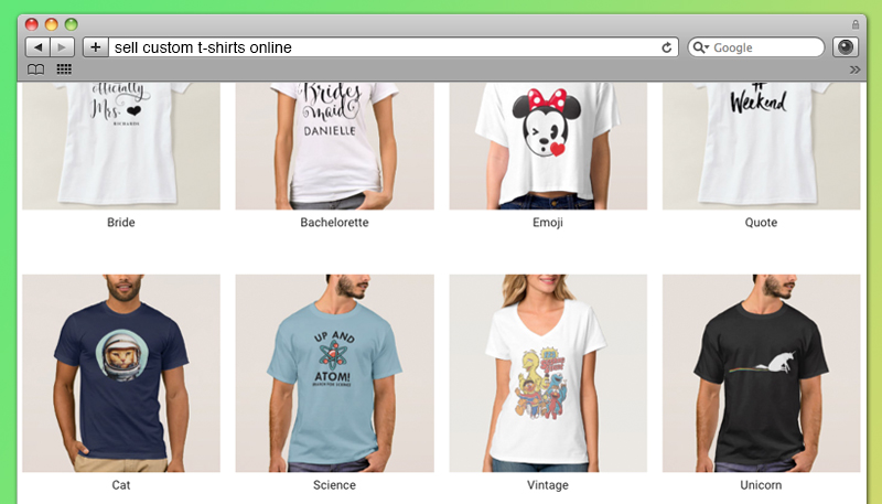 22 Best Places to Sell Your Custom T-Shirts Online
