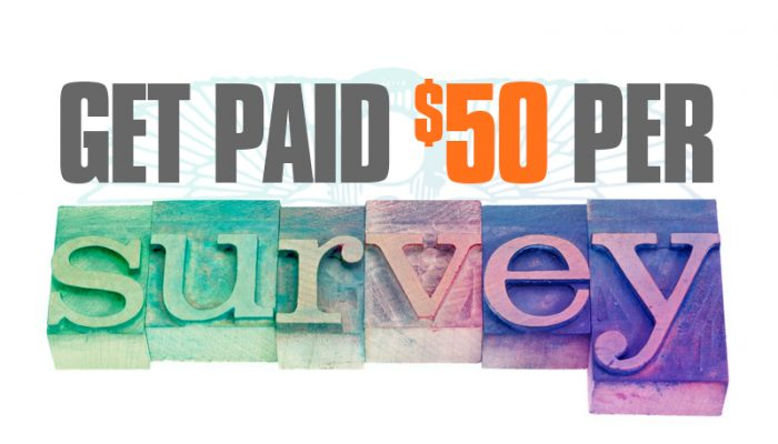 Online surveys are a great way to earn extra cash. But, this site makes it even more fun and pays $50 a survey! You could make an easy $200 extra/month in 2018.