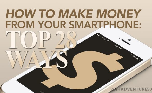 28 Best Ways to Work Online from Your Smartphone
