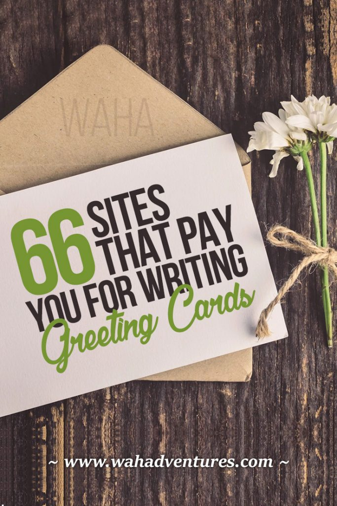 These 66 top greeting card companies online pay writers, artists, and photographers for their one-of-a-kind submissions, usually for $50 or more per acceptance! Learn how to get started in the business and where to get paid.