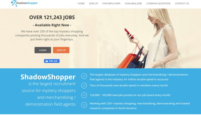 Looking for mystery shopping gigs can be tough when the industry is full of scams that seem legit. If only there was a service that helped you find real mystery shops to save you time! ShadowShopper claims to do it – but does it work? We have the answers here.