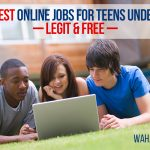 Teenagers can make money working from home too! Check out this list of 111 best online jobs for teens under 18. Legit and Free.